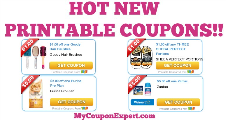 photograph relating to Yoplait Printable Coupons named Scorching Refreshing Printable Discount codes: Purina, Goody, Sheba, Zantac