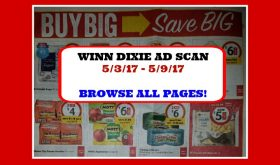 Winn Dixie EARLY AD SCAN  for May 3rd – 9th!  Plus matchups!