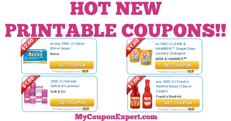 photo relating to Arm and Hammer Printable Coupons titled WHOOP!! Sizzling Clean Printable Discount coupons: Aleve, Arm Hammer, Tender