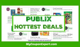 Publix HOT DEALS May 18th – 24th!!  HOT WEEK!