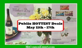 Publix HOTTEST DEALS May 11th – 17th!  PLUS new Green Flyer Deals!