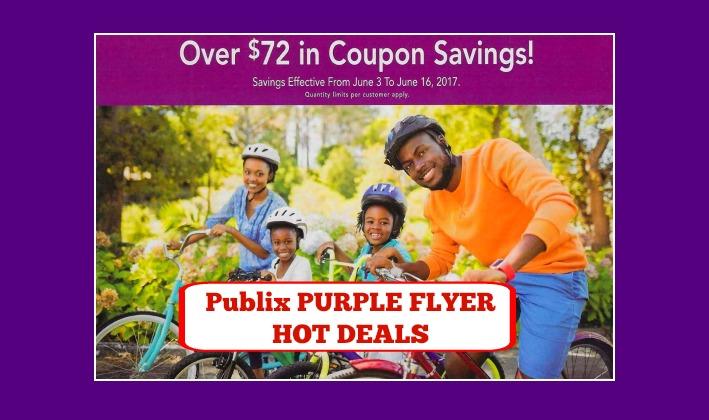 Publix Purple Advantage Flyer June 3rd – 16th!!
