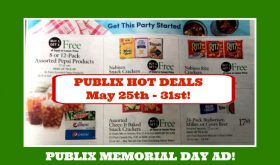 Publix HOT DEALS May 25th-31st!  MEMORIAL DAY AD!!
