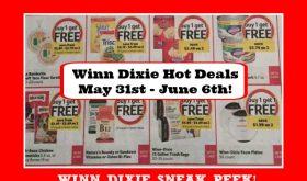 Winn Dixie SNEAK PEEK May 31st – June 6th!  Check it out!