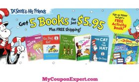 HOT DEAL ALERT!! 5 Dr. Seuss Books + Activity Book for Only $5.95 Shipped!!