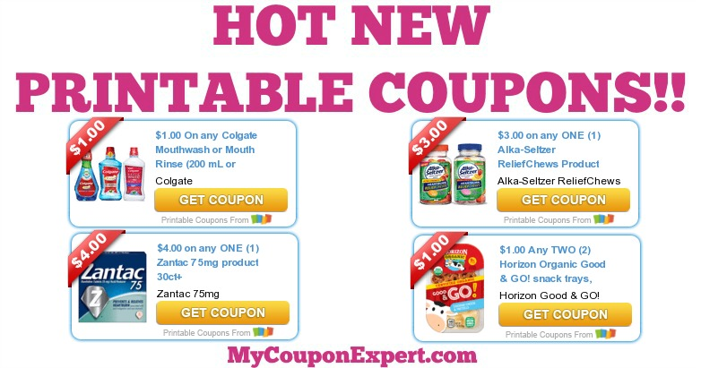 photograph about Zantac Printable Coupon identified as Sizzling Refreshing PRINTABLE Coupon codes: Colgate, Alka-Seltzer, Zantac
