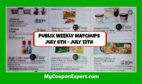 Publix HOTTEST DEALS July 6th – 12th!!  Check this out!!