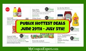 Publix HOT DEALS June 29th – July 5th!  LOADS OF DEALS!