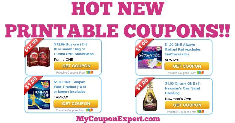Always tampax coupons