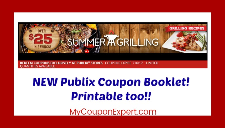 NEW Publix Coupon Booklet!  Summer Grilling!