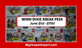 Winn Dixie SNEAK PEEK June 21st – 27th!  BIG DEALS!!!