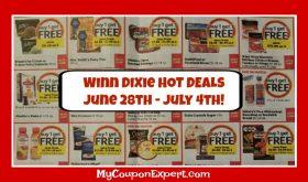 Winn Dixie Deals June 28th – July 4th!!  BIG 4th of July Ad!