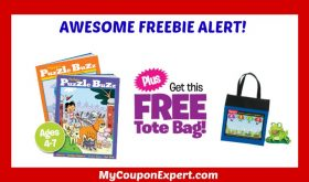 TWO Highlights Activity Books PLUS Free Tote Bag just pay $2.98 shipping!
