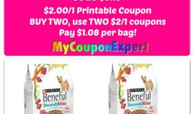 WOW!  Beneful Dog Food just $1.08 at Publix starting 8/3!!