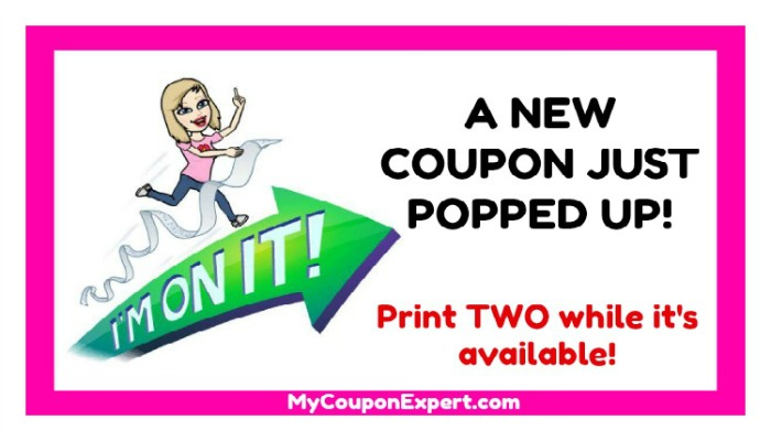 its another new printable coupon make sure you print this coupon while it is available this is a direct link to the coupon so you wont have to worry