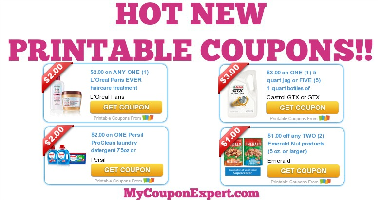 photo relating to L Oreal Printable Coupons identified as Warm Fresh new PRINTABLE Discount coupons: LOreal, Persil, Emerald
