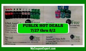 Publix Matchups & HOT DEALS for July 27th – August 2nd!