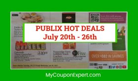 Publix HOT DEALS July 20th – 26th!!