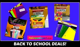 Back to School Deal Idea!  BACK PACK AND SUPPLIES for $5.00!