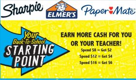 SCHOOL SUPPLY REBATES!  Check this out!