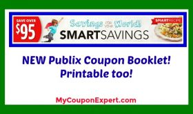NEW Publix Coupon Booklet!  Smart Savings 2017!!