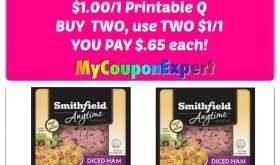 Publix Hot Deal Alert! Smithfield Diced Ham just $.65 each!