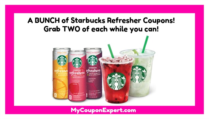 image about Starbucks Printable Coupons identified as WOW! A lot of Starbucks Refreshers Discount codes! Monitor this out! ·