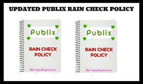 UPDATED PUBLIX RAIN CHECK POLICY