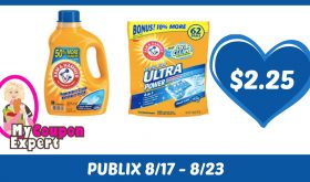 Arm & Hammer Detergent or Power Paks Only $2.25 Each After Sales and Coupons