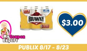 Brawny Paper Towels (6 Roll or XXL 3 Rolls) Only $3.99 Each After Sales and Coupons