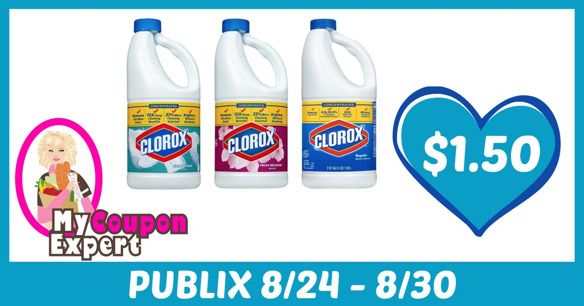 picture about Clorox Printable Coupons known as Clorox Items Basically $1.50 every single when sale and coupon codes ·