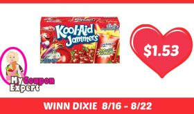 Kool Aid Jammers Only $1.53 Each Pack After Sales and Coupons