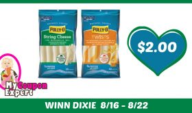 Polly-O String Cheese Only $2.00 Each Pack After Sales and Coupons