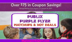 Publix Purple Flyer Matchups August 12th – 25th!!