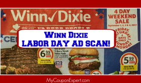 Winn Dixie LABOR DAY Ad Scan Sneak Peek!  HUGE AD!