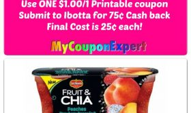 Del Monte Fruit & Chia just $.25 at Winn Dixie starting 8/16!