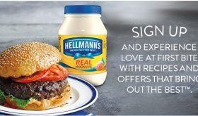 Sign-up for exclusive access to offers and promotions from HELLMANNS!