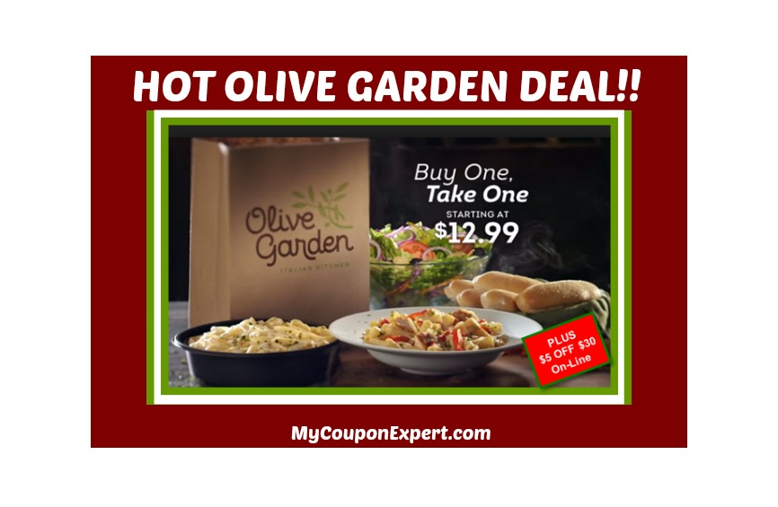 Olive garden bogo deal plus a off coupon online for Olive garden coupons april 2017