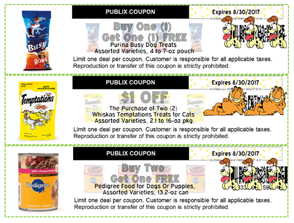 photograph regarding Printable Pet Coupons identified as Fresh PUBLIX Puppy Discount coupons for August! Printable Way too!! ·