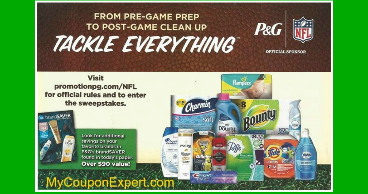 "Publix ""Tackle Everything"" Flyer in some 8/27 papers"