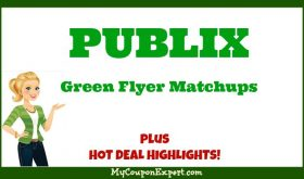 Publix GREEN Flyer Deals November 25th – December 8th!