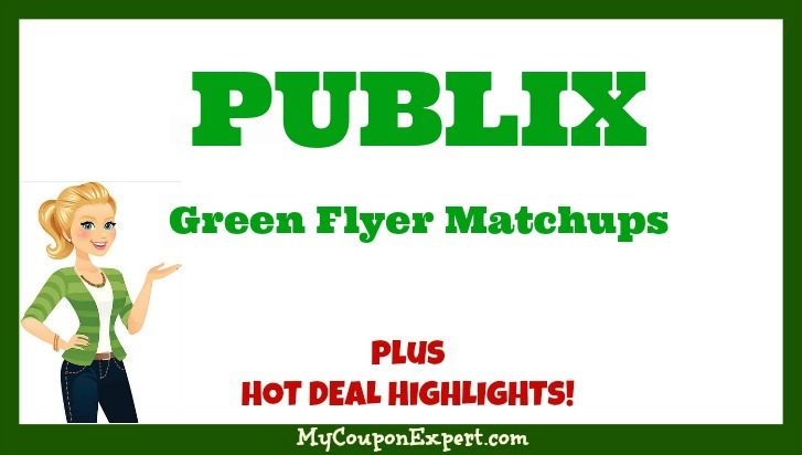Publix GREEN Flyer Deals January 6th – 19th!