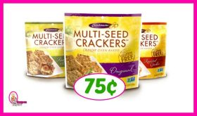 Crunchmaster Crackers 75¢ at Publix!