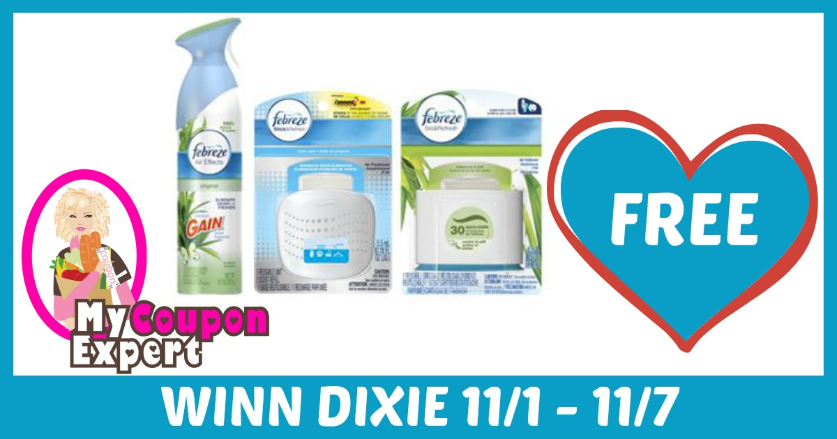 Coupons for febreze products