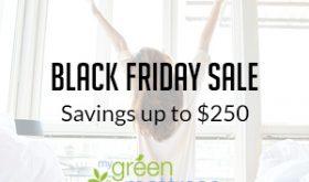 Hot Deal Alert!  Get $250 off a My Green Mattress!!!