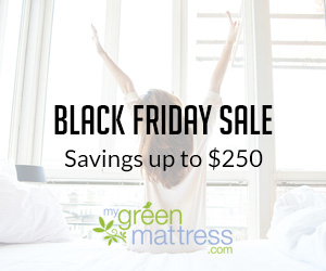 Hot Deal Alert!  Get $250 off a My Green Mattress!!!
