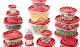 42-Piece Set, Red Food Storage Containers Under $10.00 – 50% Savings
