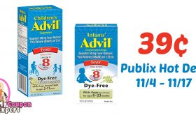 CHEAP Infant's Advil & Children's Advil after sale and coupons