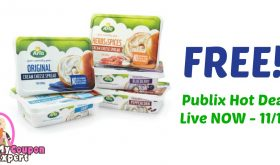 FREE Arla Cream Cheese after sale and coupons