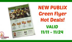 Publix GREEN Flyer HOT DEALS November 11th – 24th!!
